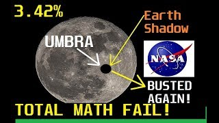 EARTH WAY TOO BIG in NASA Model - NASA FAIL!