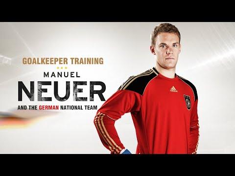 Goalkeeper training - Manuel Neuer training (  Bayern Munich and the German national team)