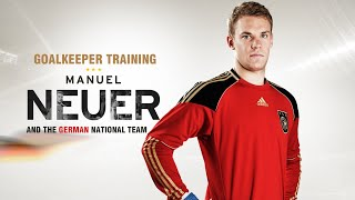 vuclip Goalkeeper training - Manuel Neuer training (  Bayern Munich and the German national team)