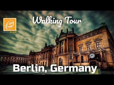 Berlin Walking Tour - University, Friedrichstrasse, Berliner Dom, Alte Nationalgalerie, Germany