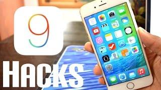 10 iOS 9 HACKS! (not hidden features) iPhone 6S Also