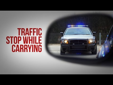 Traffic Stop While Carrying - Texas