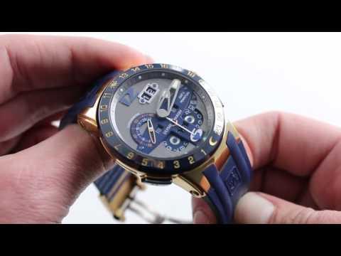 Ulysse Nardin El Toro Perpetual GMT Luxury Watch Review
