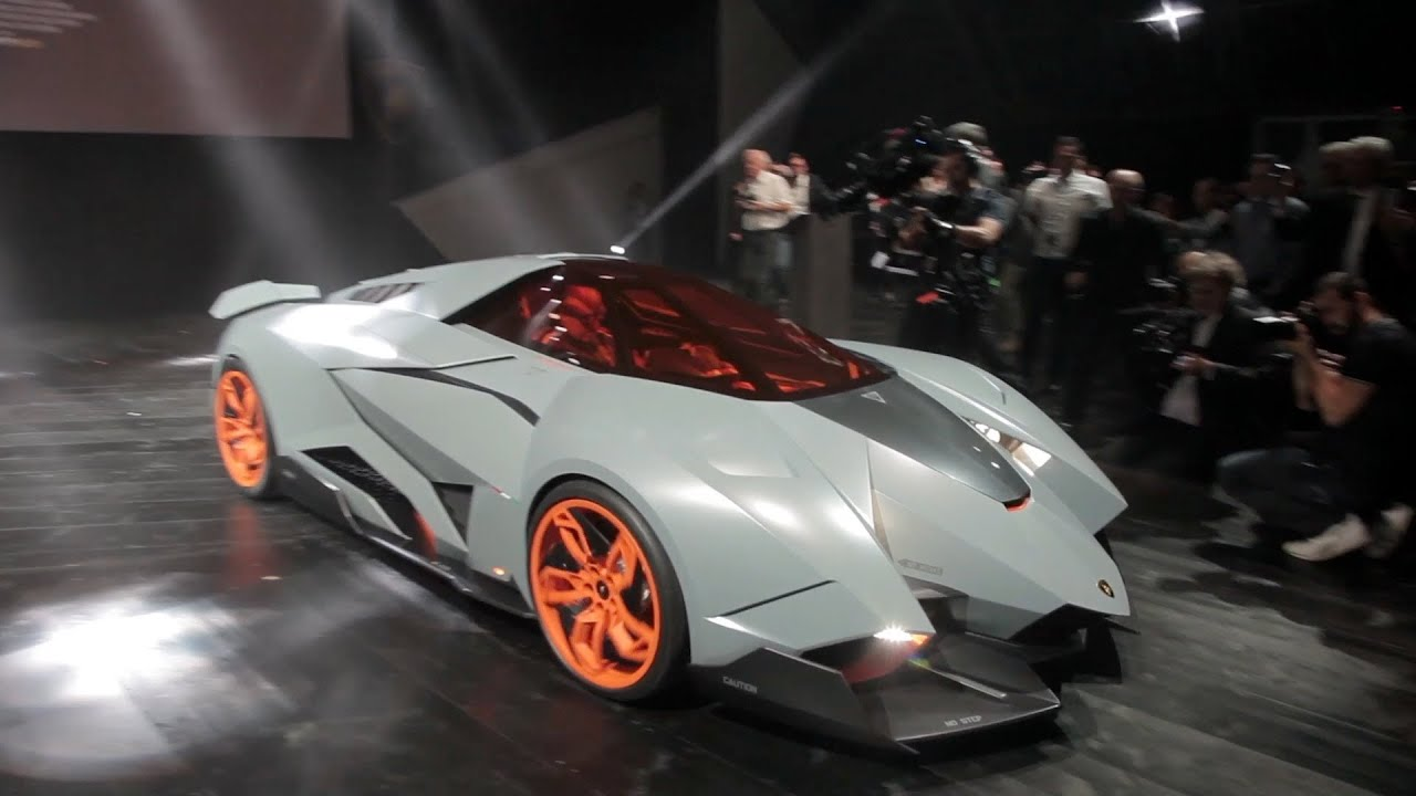 new lamborghini egoista unveiled to the lamborghini 50th anniversary youtube