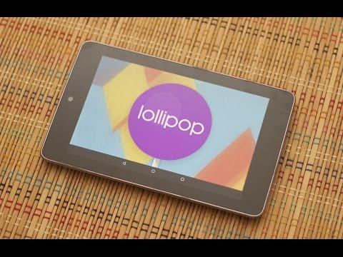 Nexus 7 2012 Wifi - ANDROID 5 0 Lollipop + TWRP + ROOT