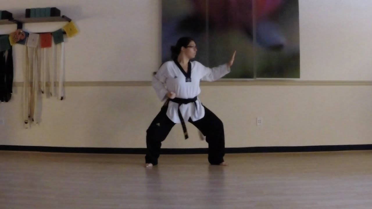 First - Fourth Degree Black Belt Poomsae Taekwondo - YouTube