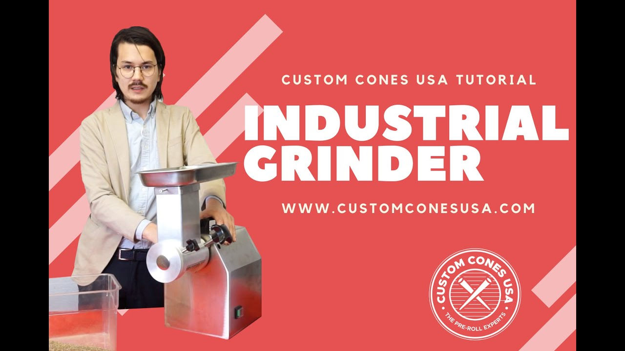 Industrial Cannabis Grinder | Custom Cones USA