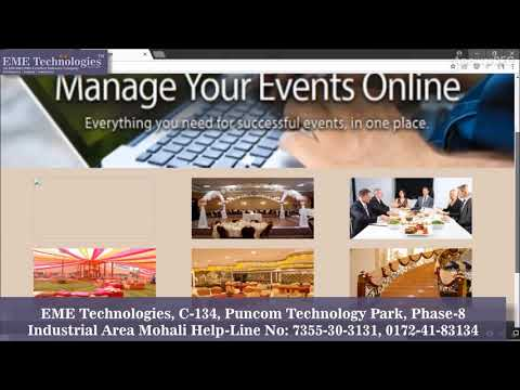 Event Management System Website | Php Projects With Source Code