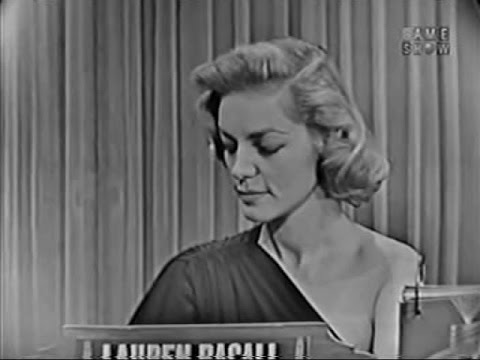 What's My Line? - Lauren Bacall (Nov 8, 1953) [CORRECTED]