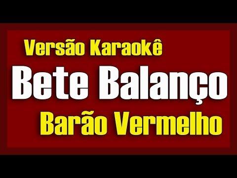 Barão Vermelho - Bete Balanço - Karaokê