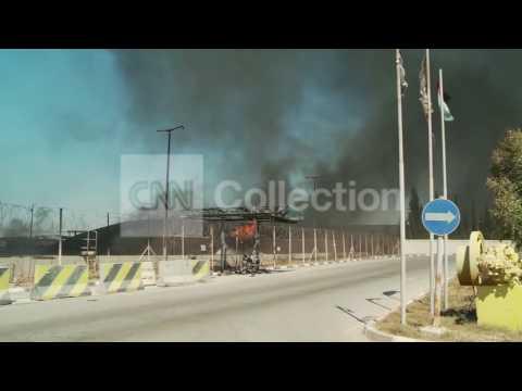MIDEAST: GAZA POWER STATION BLAST (TUESDAY)