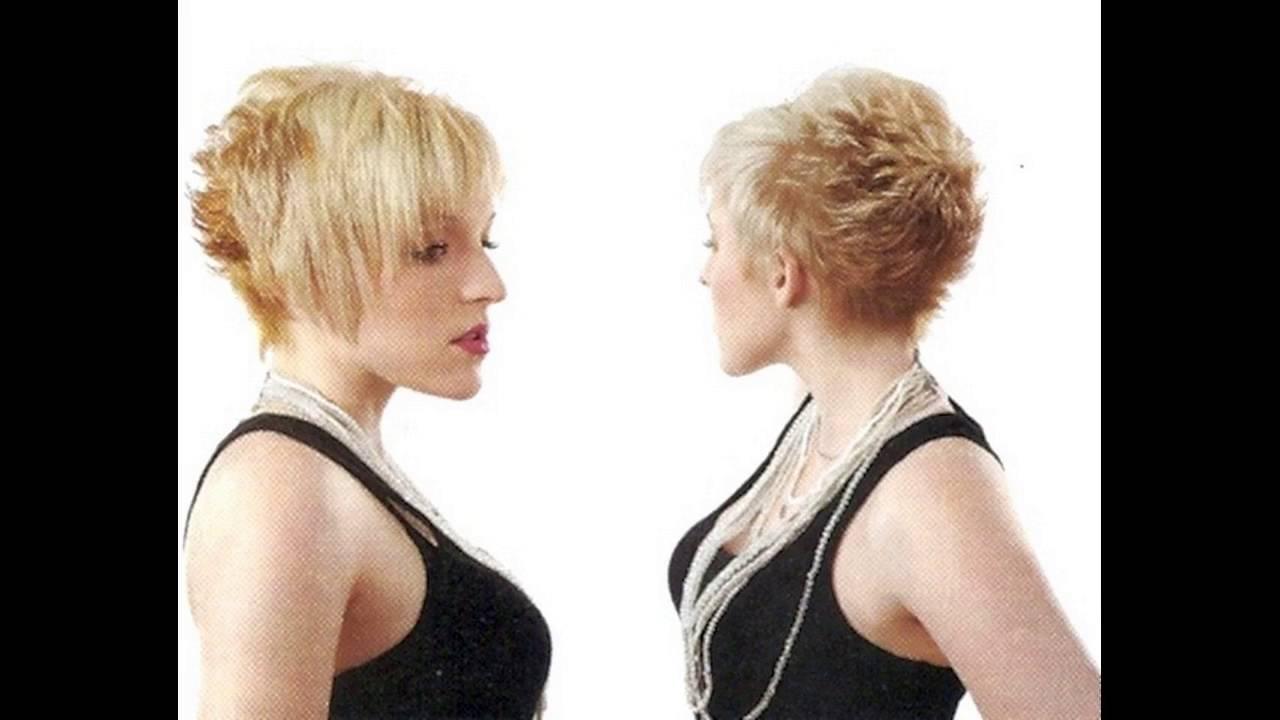 Shaggy Pixie Cut Makes Women Look Cute For Thin Hair Women Youtube