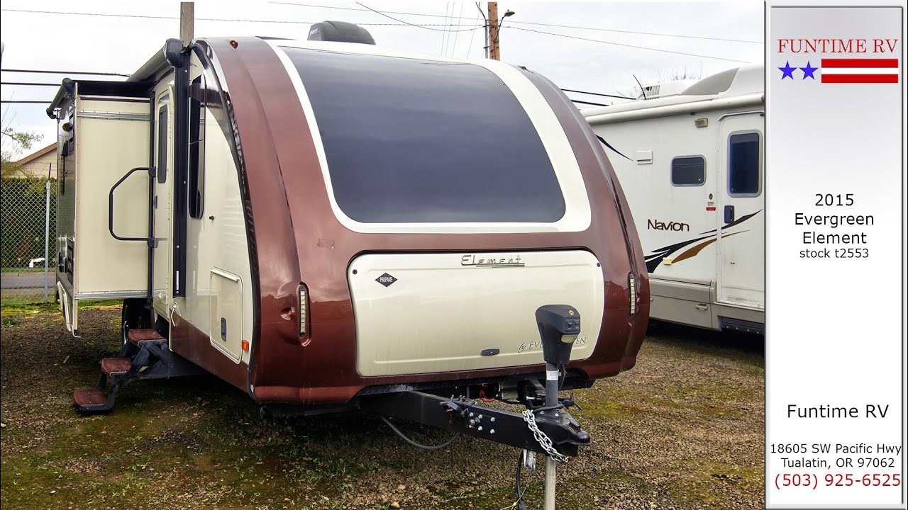 2015 Evergreen Element Travel Trailer For Sale Near