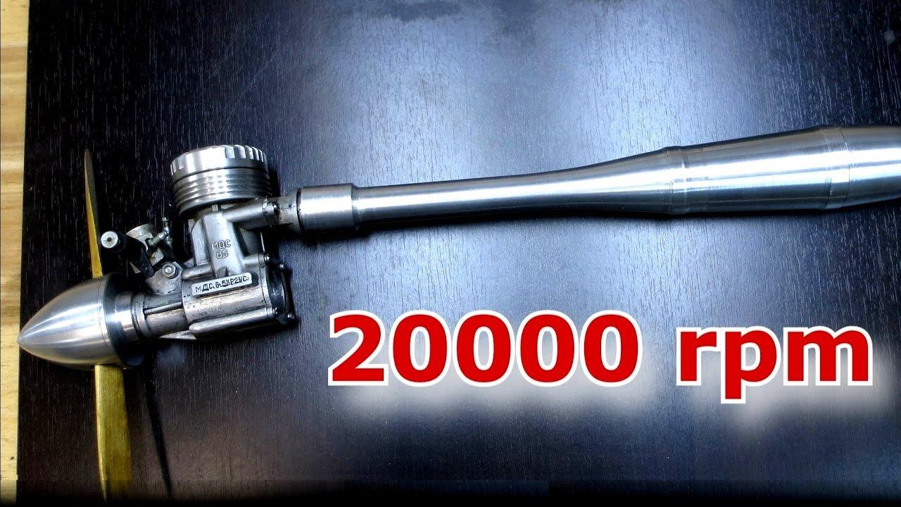 МДС 6.5 метанол плюс нитрометан — даёшь 20 000 RPM