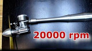 МДС 6.5 метанол плюс нитрометан - даёшь 20 000 RPM