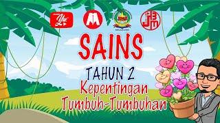 SAINS TAHUN 2 I TUMBUH-TUMBUHAN I KEPENTINGAN TUMBUH-TUMBUHAN I CW125