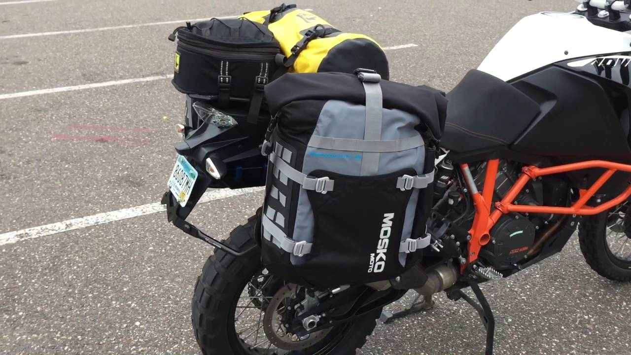 2016 ktm 1190 adventure r mosko moto bacountry panniers on sw
