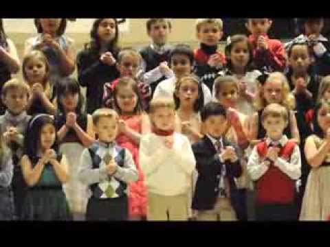Loudoun Country Day School Winter Program - First & Second Grade Choir