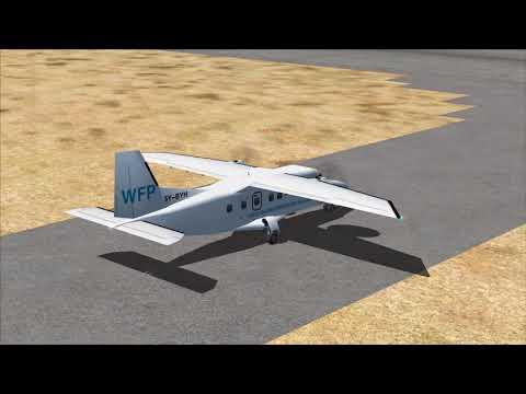 5Y-BYH Garowe Airport Take Off