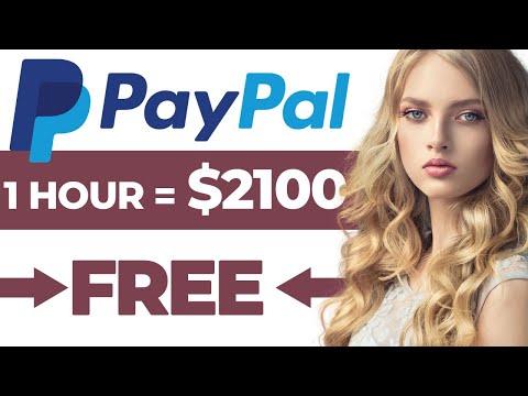 Make $2100 In Free PayPal Money Doing Nothing! (Make Money Online 2021)