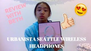 REVIEW with Beth: Urbanista Seattle Wireless Headphones Rose Gold