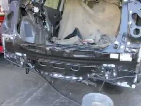 2011 Toyota Prius Rear End Collision Repair