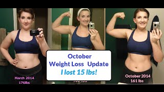 October Weight Loss Update - I lost 15 lbs! Going vegan + some changes Thumbnail