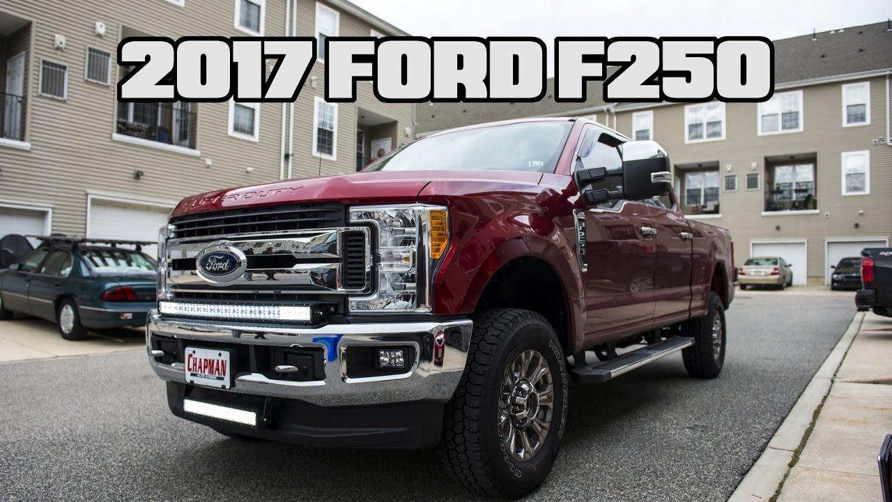 2017 Ford F250 Auxbeam Dual Light Bar Install Youtube