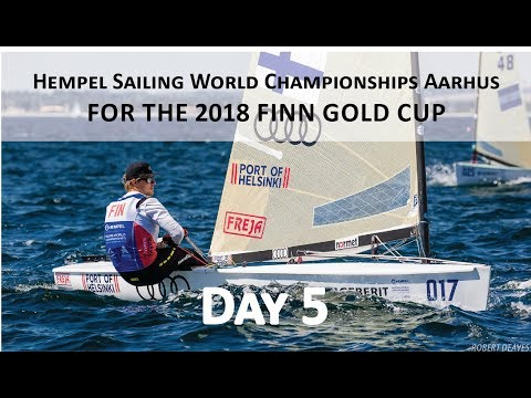 Highlights from Day 5 of the 2018 Finn Gold Cup in Aarhus