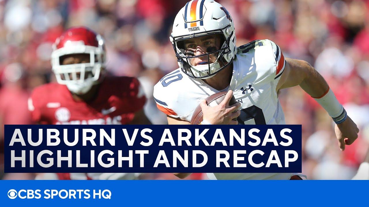 Losers from Auburn vs Arkansas