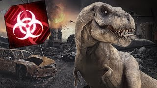 Jurassic World Virus!!! | Jurassic Planet - Plague Inc: Evolved
