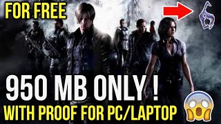 Resident Evil 6 for pc highly compressed in just 950 mb only | Dhruv Gaming