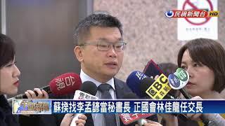 蘇閣鐵三角 副院長陳其邁、秘書長李孟諺-民視新聞
