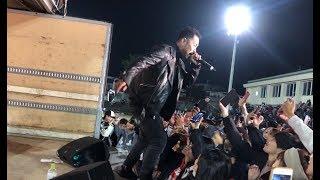 SHOが山梨.富士吉田市よい子の花火大会にてライブ。SHO FREESTYLE TV Part 811