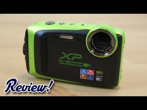 Fujifilm FinePix XP130 - Complete Review! (New for 2018)