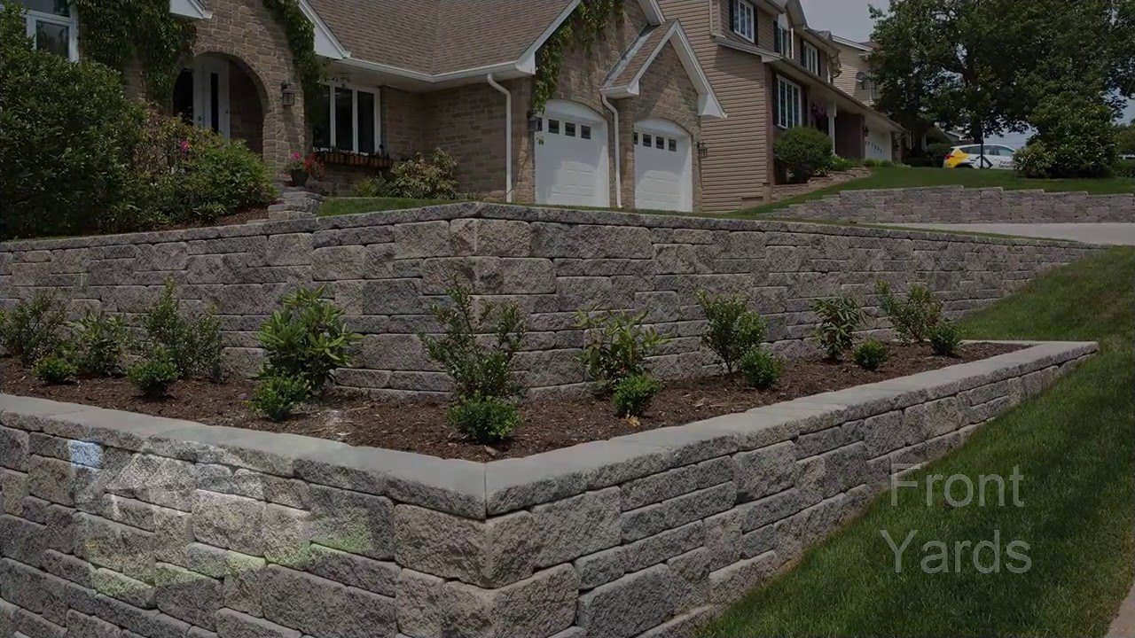 tackling a sloping yard design ideas and solutions youtube