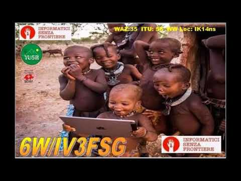 6W/IV3FSG Senegal. From dxnews.com