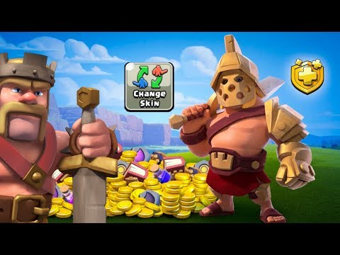Gladiator King In Clash Of Clans.