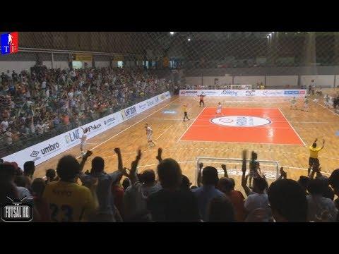 Gols Blumenau 2 x 0 Cascavel - 3ª Semana Liga Nacional de Futsal 2018 06042018
