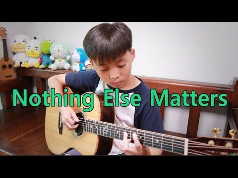 Nothing Else Matters (Metallica) _ Fingerstyle guitar arranged & cover by Sean Song