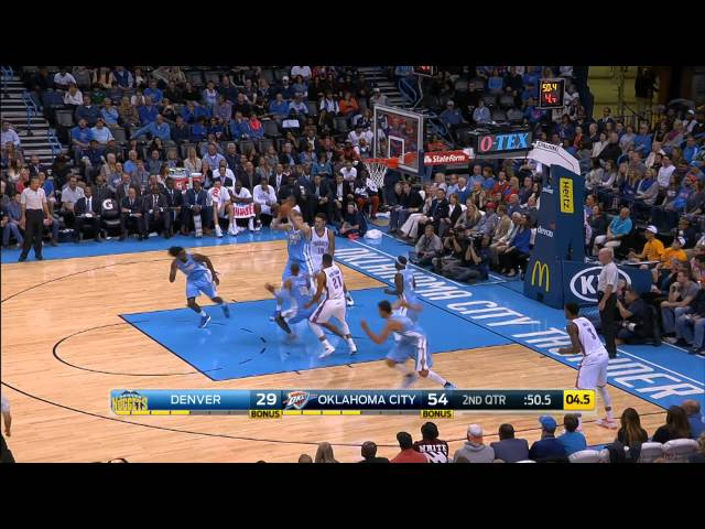 Top 10 NBA Plays: November 1st