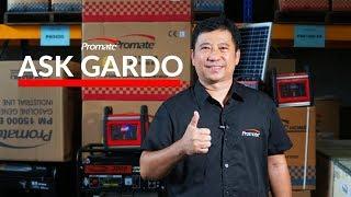 Diesel VS Gasoline Generator #AskGardo 04