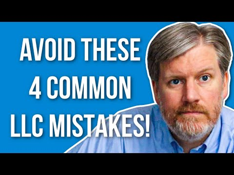 Single Member LLC Mistakes You Should Avoid - 4 Biggies