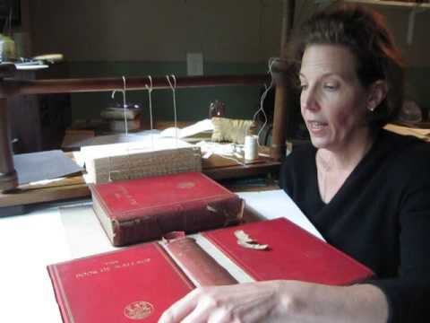 Part 1: Heirloom Cloth Binding Restoration - Book Conservation