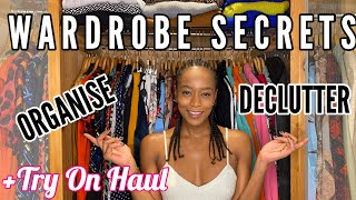 WARDROBE OVERHAUL WARDROBE HAUL: Declutter and Organise with Annaliese Dayes (2020)