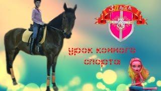 Урок верховой езды / Уход за лошадью/ Gooliope Jellington/ Конно-Спортивная база ЦСКА