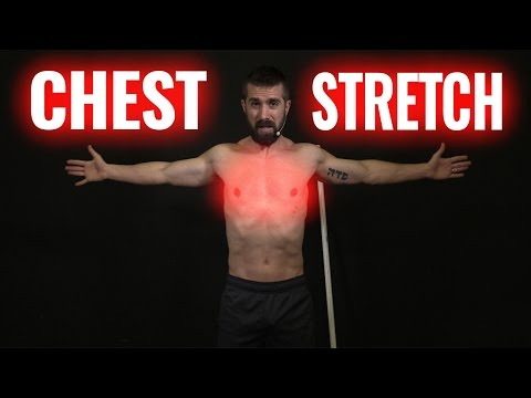 Dynamic Stretches to WARM UP Chest Muscles (before you bench!)