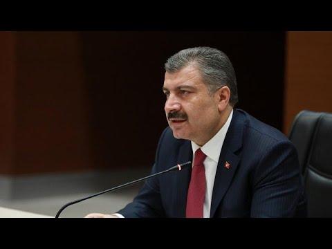 Sağlık Bakanı Koca: Sağlık personelimiz içinde test sonucu pozitif olan vakalarımız var