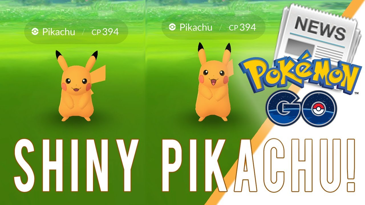SHINY PIKACHU COMING SOON TO POKEMON GO! Pokemon GO Shiny ...