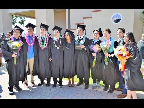 EVHS Valedictorians and the Class of 2018 Graduation @ Evergreen Valley High School